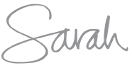Sarah Richardson Signature