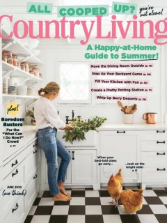 Country Living - June 2020 - COver