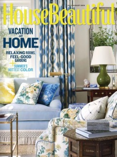 House Beautiful - July/August 2018