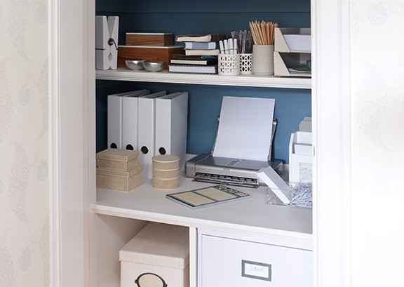 Home office by Sarah Richardson Design