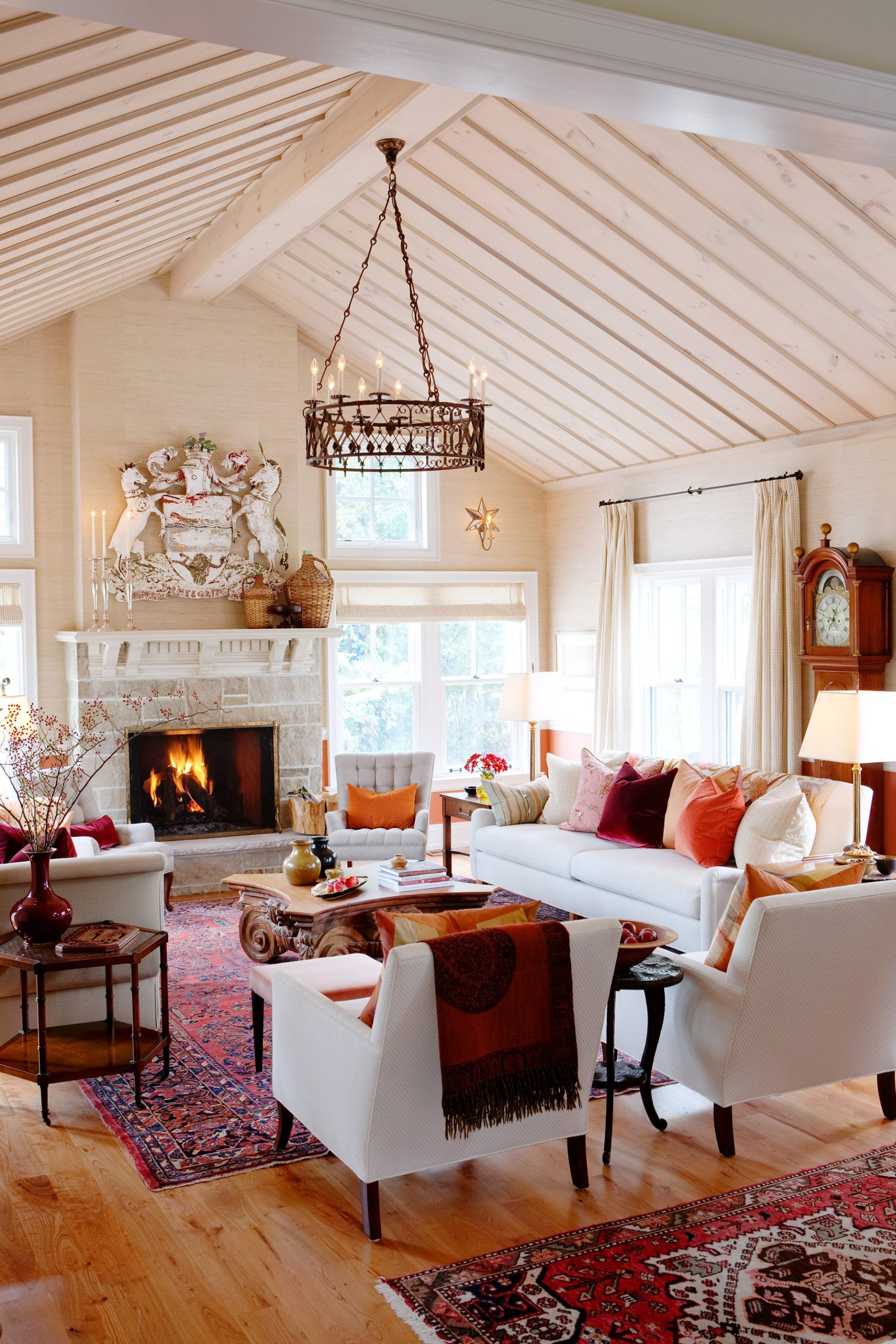 Linking old and new - Sarah richardson living room ideas ...