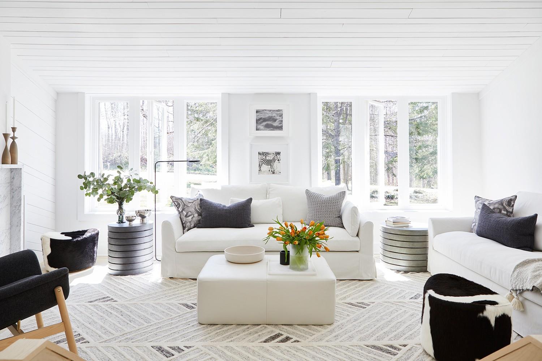 Retro Ranch Reno Living Room