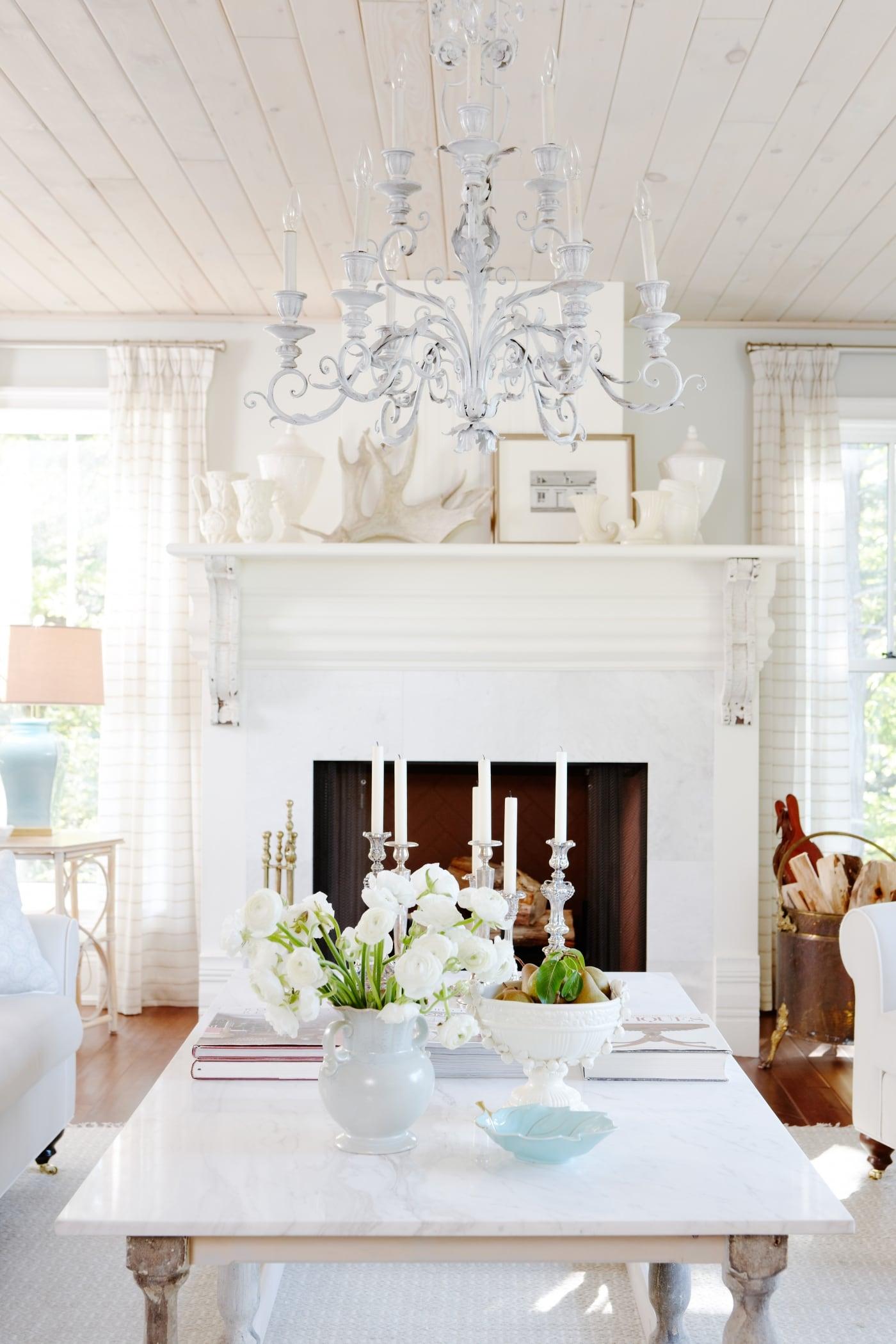 Sarah Richardson Design - Starlight Farm - Living Room